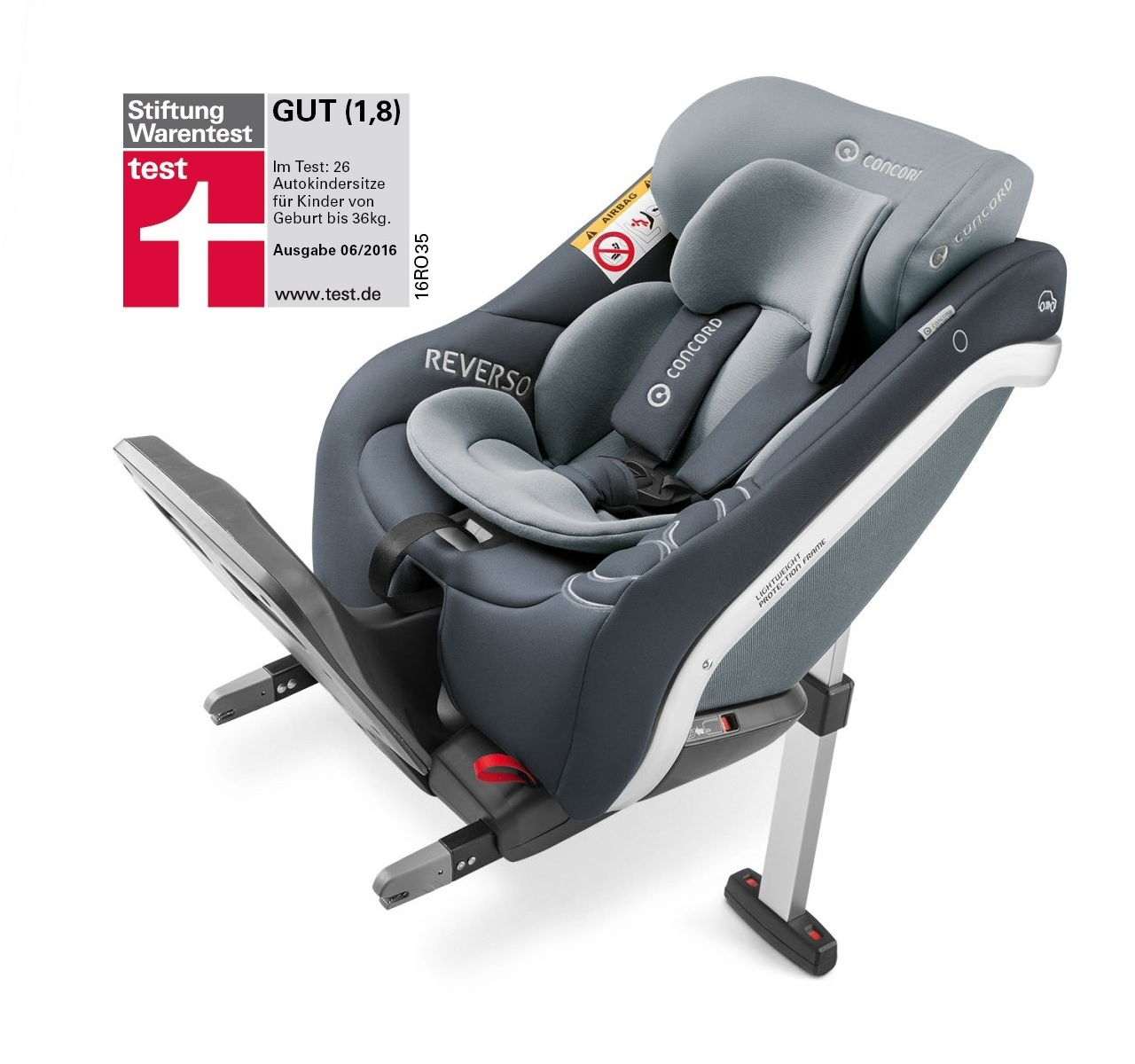 Concord baby car seats: model overview, features and reviews 8