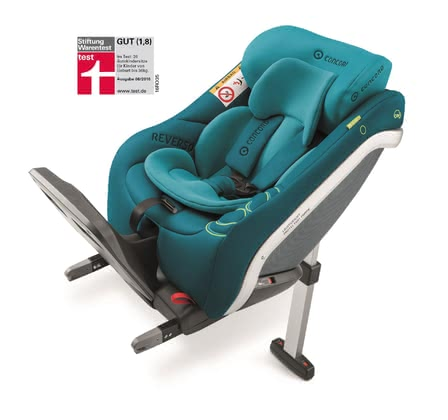 Concord Reboard Child Car Seat REVERSO.PLUS - * By using this seat you are carrying your child faced backwards and according to the new i-Size standards.