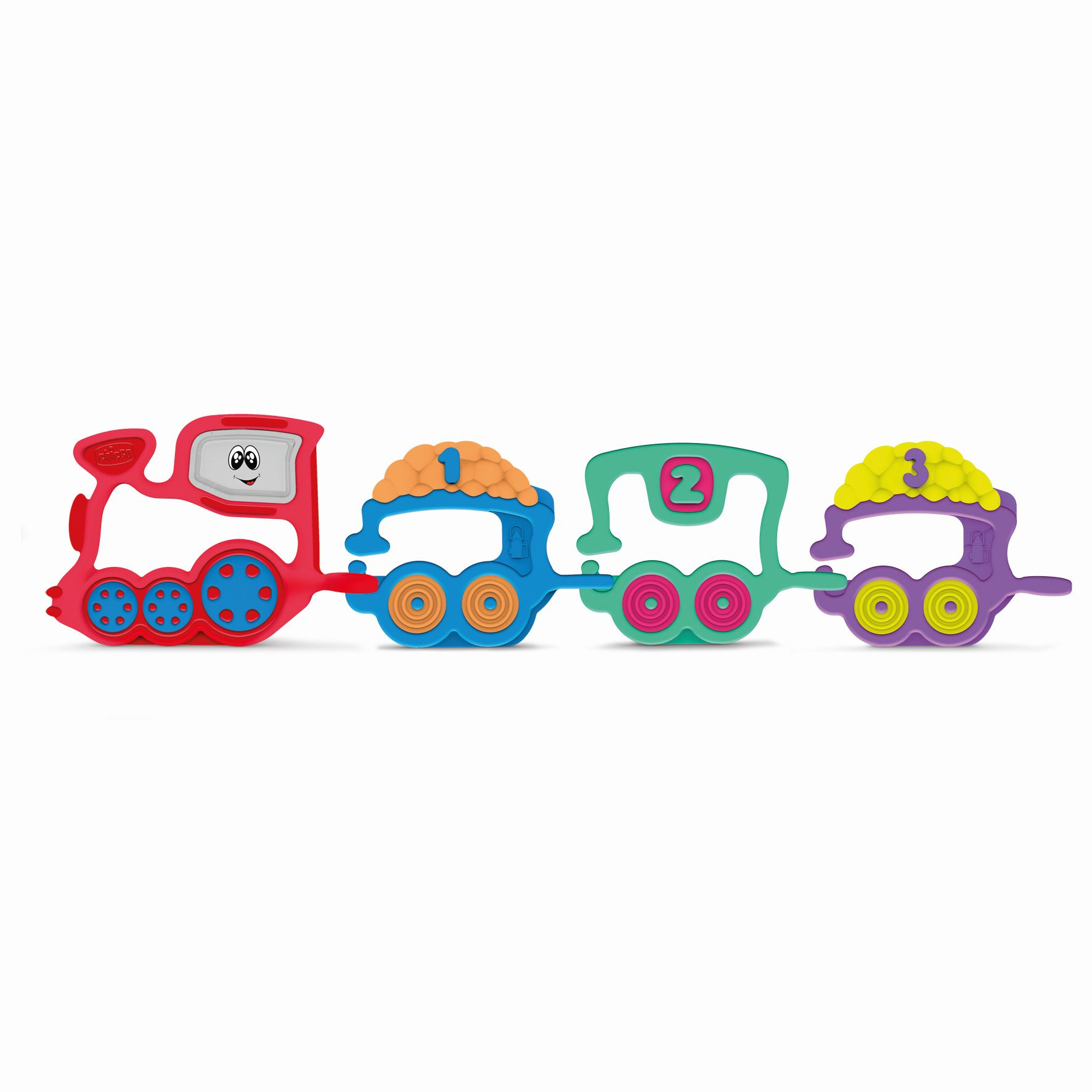 "Chicco Clutching Toy ""Train"" Buy at kidsroom Toys"