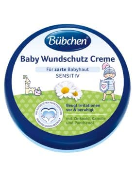 Bübchen Baby Nappy Cream - * The Bübchen baby nappy cream helps to protect the delicate skin of your baby. Especially in the diaper area needs the skin special care.
