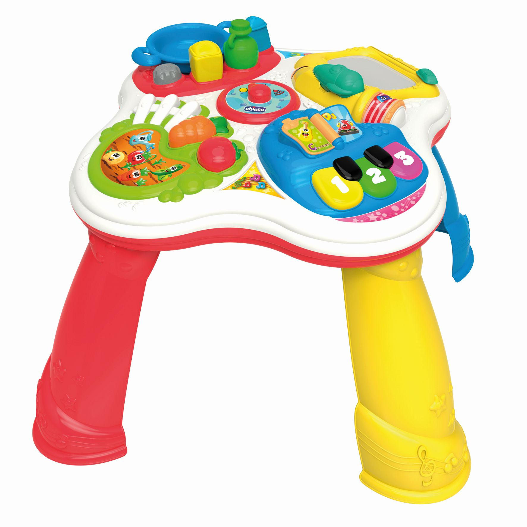 Chicco hobbies table buy at kidsroom toys baby toys for Chicco seggiolino tavolo