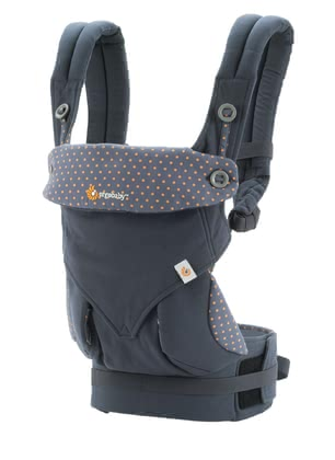 Ergobaby baby carrier 360° Dusty Blue 2017 - large image