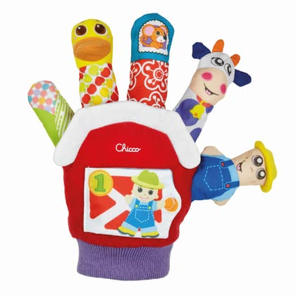 Chicco Finger Puppet Glove - * Chicco toy glove – Having the toy glove by Chicco you are able to revive the happy farm.