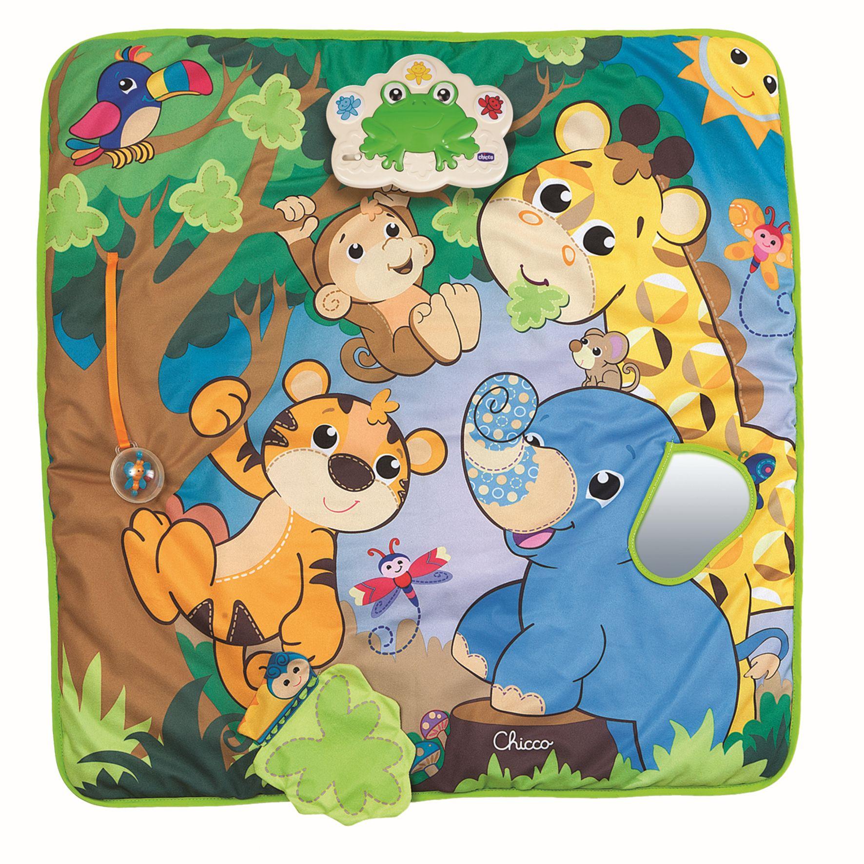 Chicco Play Mat Musical Jungle Buy At Kidsroom Toys