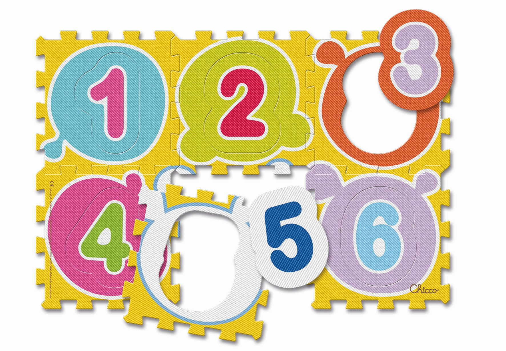 Chicco Soft Play Mats Numbers & Animals Zahlen Buy at kidsroom