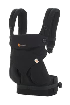 Ergobaby baby carrier 360° Pure Black 2016 - large image