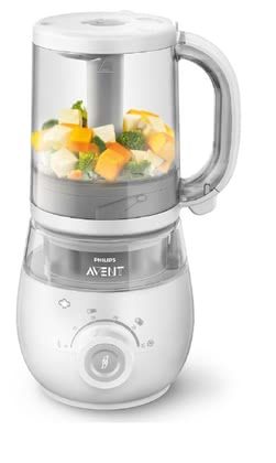 AVENT 4 in 1 Healthy Baby Food Maker - * AVENT 4in1 baby food preparer – Steam, mix, unfreeze and warm up – those four functions are included in this 4in1 baby food preparer.