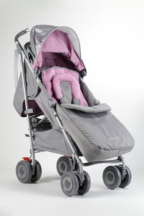 MacLaren stroller TECHNO XLR -  * The MacLaren stroller TECHNO XLR convinces with its extra large seat area. It has a width of 37 cm and is thus by far the widest buggy on the market.