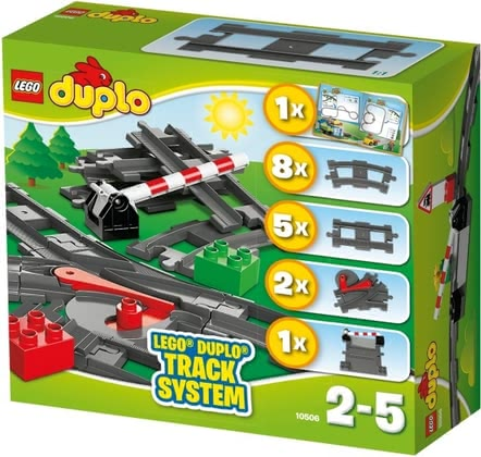 LEGO Duplo railways accessory set - * Lego Duplo rail accessory set – A lot of fun will be provided with the rail set by Lego Duplo.