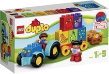 Lego Duplo My first tractor - * Lego Duplo My first tractor – The tractor fascinates the littlest ones and is fun to play with.