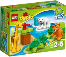 Lego Duplo young animals - * Lego Duplo young animals – Experience an exciting adventure in the zoo with the Lego Duplo animals.