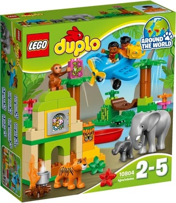 LEGO Duplo Jungle - This set offers so many ways to play and learn for little adventurers—whether it's looking for treasure in the ruins, making their own animal stories, ta...