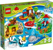 Lego Duplo Around the world - * Lego Duplo Around the world – Travel around the world in next to no time with this set.