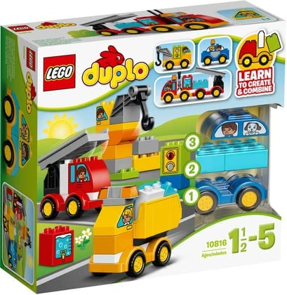 Lego Duplo My first vehicles 2016 - large image