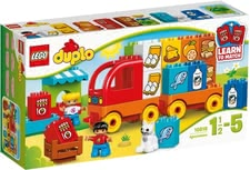 Lego Duplo My first truck - * Lego Duplo My first truck – At an age of about 1 ½ years your little one can load up and unload the truck himself/herself.
