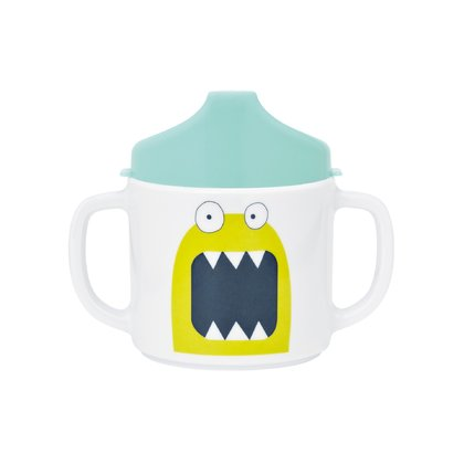 Lässig learn-to-drink cup -  * The learn-to-drink cup by Lässig prevents your child from making a mess at her/his first attempts to drink independently.