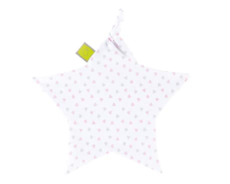 Zöllner Cuddle cloth Heart Pink 2017 - large image