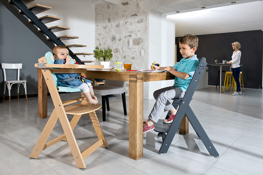 ... Safety 1st Highchair Timba Natural Wood   Large Image 3 Gallery