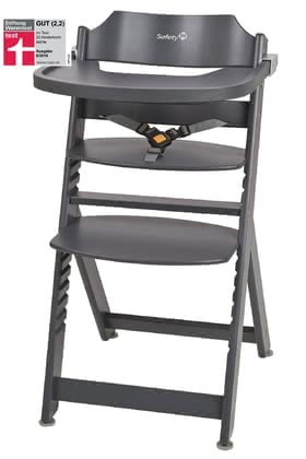 Safety 1st Highchair Timba Dark Grey - large image
