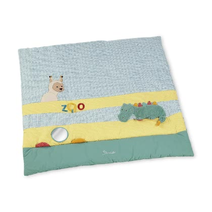 Sterntaler Playmat -  * The soft baby playmat by Sterntaler accompanies your baby when making the first attempts at crawling. Its cute design and the colourful features make this playmat by Sterntaler a real eye-catcher in every room.