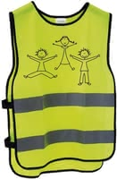 Messingschlager Reflective Vest for Children XXS/ XS -  * Messingschlager's reflective vest helps your child travel safely at all times. Its reflective stripes make your little one highly visible in twilight.