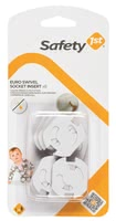Safety 1st Euro Swivel Socket Inserts - * Safety 1st rotatable socket protector – Make your flat childproof.