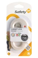 Safety 1st Cabinet Lock - * Safety 1st cabinet locker – Simple principle with a great effect – doors will stay closed with this cabinet locker.
