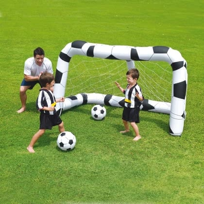 Bestway Inflatable Soccer Goal Set - large image