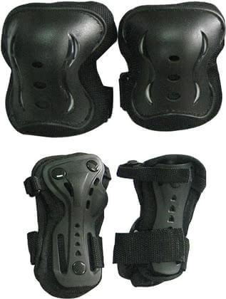 X.X. Treme Protective Gear Set - * A necessary safety should not be missed when going skating or driving scooter.