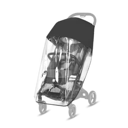 Gb by Cybex Rain Cover for Buggy Qbit+ - * Gb by Cybex rain cover for buggy Qbit+ - Protect your stroller with this rain cover regardless of the wind or weather conditions.