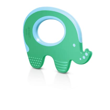 AVENT Teether Elephant - * AVENT teether ring – The teether ring cools and reduces your child from pain while teething.