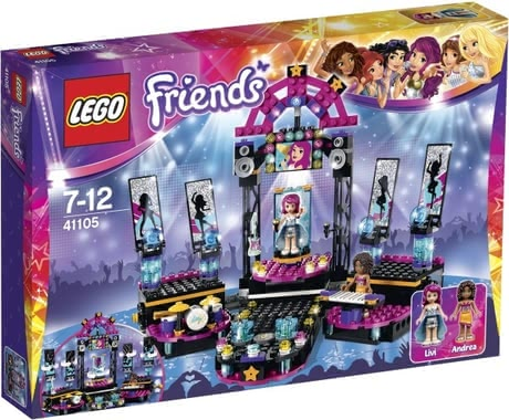 Lego Friends Popstar stage 2017 - large image