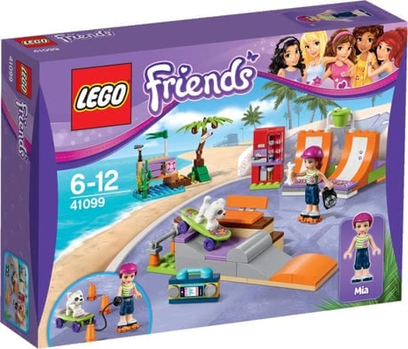 Lego Friends heartlake skate park - large image