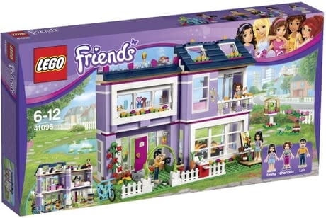 Lego Friends Emma's family house 2016 - large image