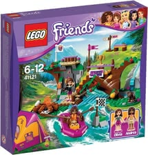 Lego Friends adventure camp Rafting - * Lego Friends adventure camp Rafting – Experience exciting days with Olivia and Andrea.