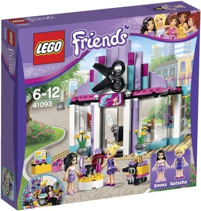 Lego Friends Heartlake hairdresser's shop 2016 - large image