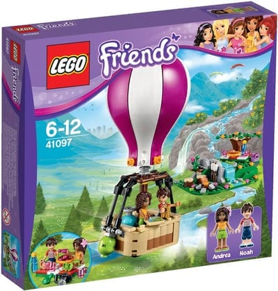 LEGO Friends Heartlake hot-air balloon - * Lego Friends Heartlake hot-air balloon – Get in and enjoy the view!