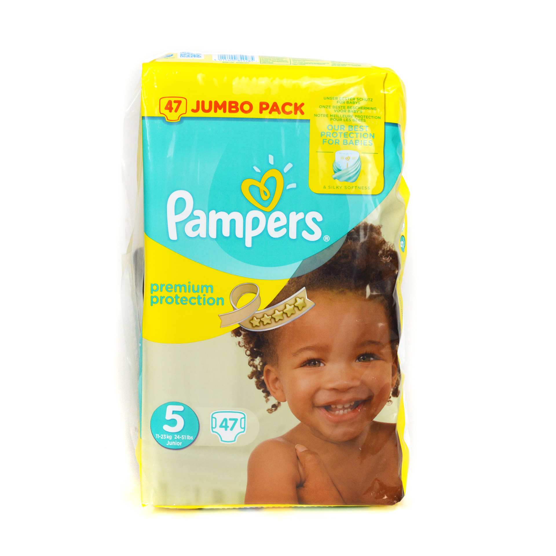 Pampers Premium Protection Nappies Jumbo Pack Size 5 Junior Buy