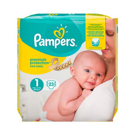 Pampers Premium Protection Nappies New Baby Size 1 Buy