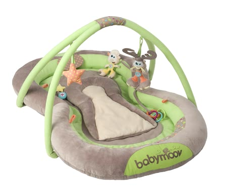 Babymoov Activity Nest - * Babymoov play mat – A comfortable mat on which you child is even able to play thanks to the cute toys hanging on it.