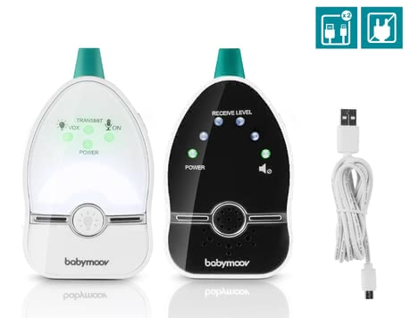 Babymoov Easy Care Baby Monitor - * Babymoov Easy Care baby phone – The Easy Care by Babymoov is suitable for everybody who is looking for a baby phone with very low radiation.