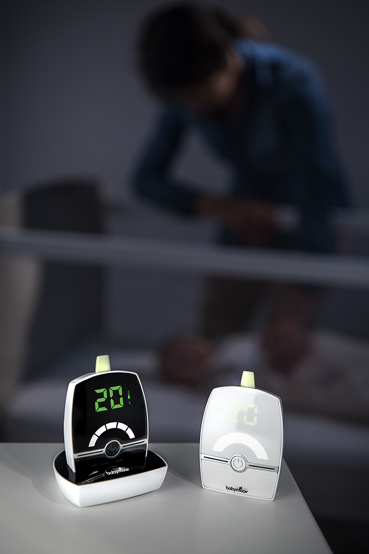 babymoov premium care baby monitor buy at kidsroom living sleeping. Black Bedroom Furniture Sets. Home Design Ideas