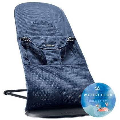 BabyBjörn Bouncer Balance Soft Mesh – Watercolor Collection Großer Blauwahl 2017 - large image