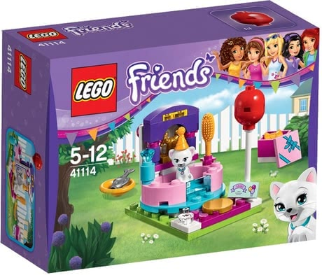 LEGO Friends party styling - * LEGO Friends party styling – Style the cat Jewel for a birthday party.