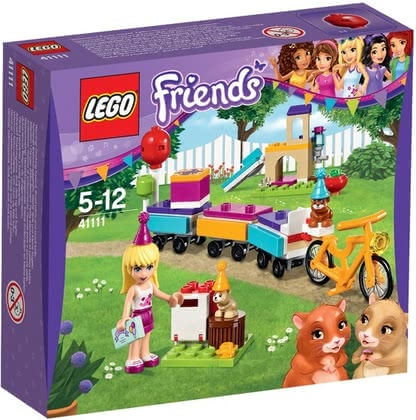 LEGO Friends party train 2017 - large image