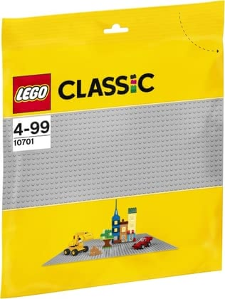 LEGO Classic base plate grey - * LEGO Classic grey base plate A useful enrichment for your child's LEGO collection.