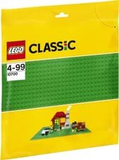 LEGO Classic base plate green - * LEGO Classic green base plate. A useful enrichment for your child's LEGO collection.