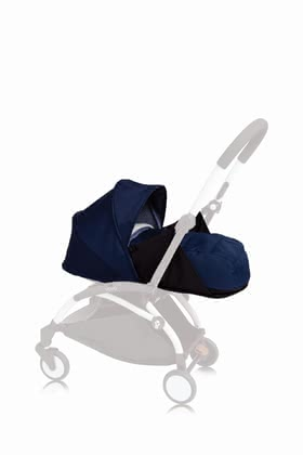 Babyzen YOYO+ Textile Set 0+ including Newborn Nest Air France Blue_navy blue 2018 - large image