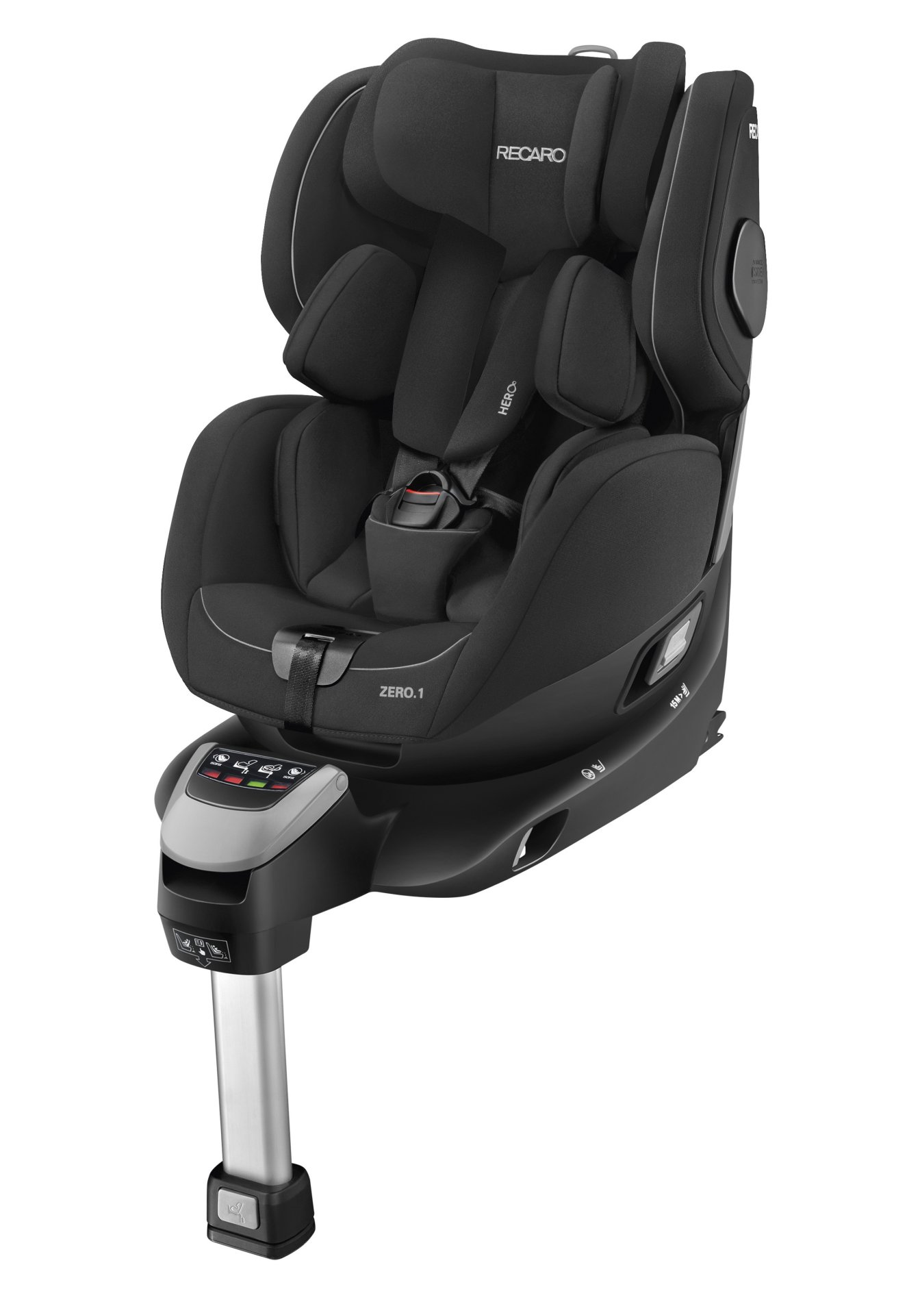 recaro reboarder zero 1 i size incl isofix base 2018. Black Bedroom Furniture Sets. Home Design Ideas