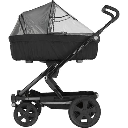 Britax Römer GO Rain Cover for Carrycot - * Britax Römer GO rain cover for pram body – Suitable for the pram body and protects at any weather.